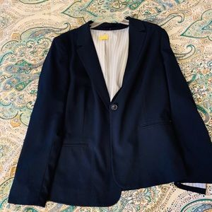 Work-Wear Navy Blazer